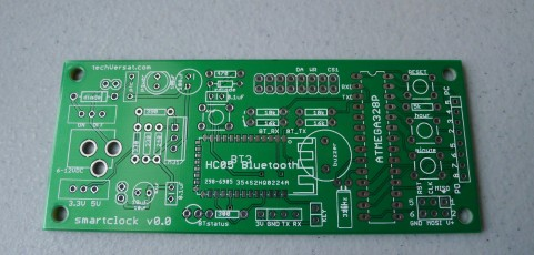 The LEDI v0.0 PCB is finally here!